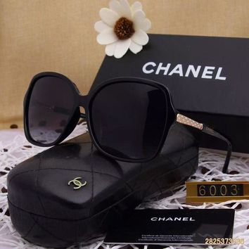 DCCKU62 Original Chanel Fashion New Design Polarized Lenses Sunglasses 6003 - 155