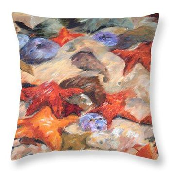 Starfish - Throw Pillow