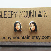 April Ludgate - Parks and Recreation Aubrey Plaza Earrings