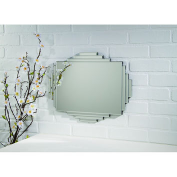 ART DECO LAYERED MIRROR