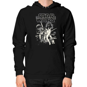 Classic Star Wars Hoodie (on man)