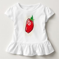 cute Strawberry Toddler T-shirt