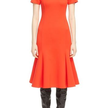 McQ by Alexander McQueen Flared Body-Con Dress | Nordstrom