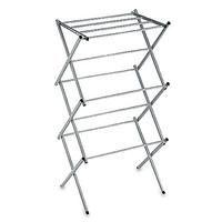 Polder® Compact Clothes Drying Rack in Drizzle