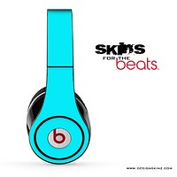 Solid Aqua Blue Skin for the Beats by Dre Solo, Studio, Wireless, Pro or Mixr
