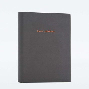 Black Daily Journal - Urban Outfitters