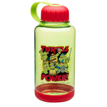 Nickelodeon BPA Free 24 Ounce Retro San Crescent Bottle - Teenage Mutant Ninja Turtles