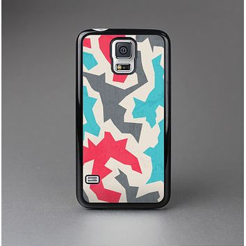 The Retro Colored Abstract Maze Pattern Skin-Sert Case for the Samsung Galaxy S5