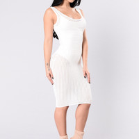 Face From Heaven Dress - Ivory