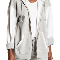 Free People | Drawstring Front Zip Hoodie | Nordstrom Rack