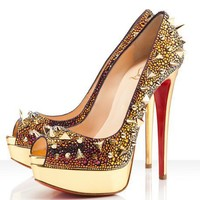 Christian Louboutin Very Mix 150mm Vulcano Pumps - $227