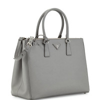 Prada Saffiano Executive Tote Bag w/ Strap