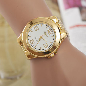 Comfortable Vintage Fashion Quartz Classic Watch Round Ladies Women Men wristwatch On Sales = 4661752964