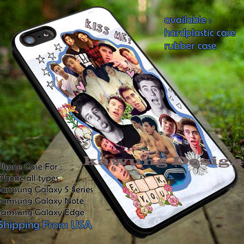 Cameron Dallas n Nash Grier Collage iPhone 6s 6 6s+ 5c 5s Cases Samsung Galaxy s5 s6 Edge+ NOTE 5 4 3 #movie #MagconBoys dt
