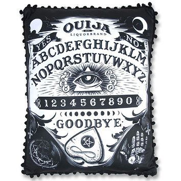 LIQUORBRAND Liquor Brand Ouija Board PILLOW