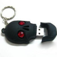 Cranial head latest skull head 8GB 16GB 32GB 64GB USB 2.0 Memory flash drive