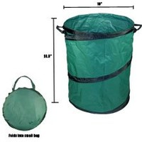"Portable Trash Can, 22"" X 28"" Collapsible, Extra Large"