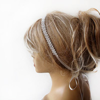 Wedding Rhinestone Headband, Bridal Headband, Wedding Bridal Hair, Weddings Bridal Accessories