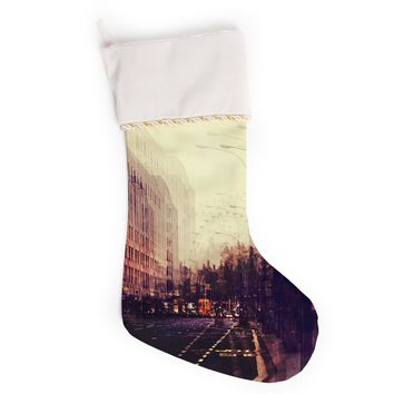 "Ingrid Beddoes ""London"" Christmas Stocking"