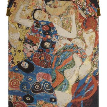 Virgin Klimt Belgian Tapestry Wall Art