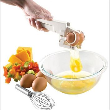 EZ Egg Crackers With Separator As Seen On TV
