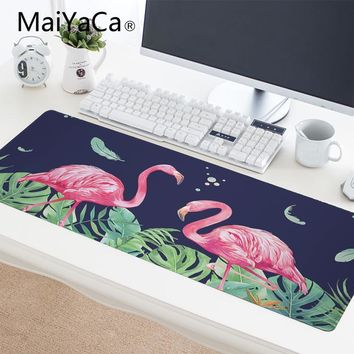 Tropical Pink Flamingo Mouse, Keyboard, or Gaming Pad