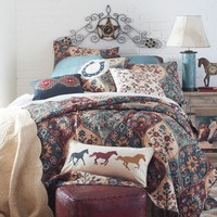 Western Tapestry Bedding Collection - Quilts - Bedding