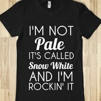 I'M NOT PALE-SNOW