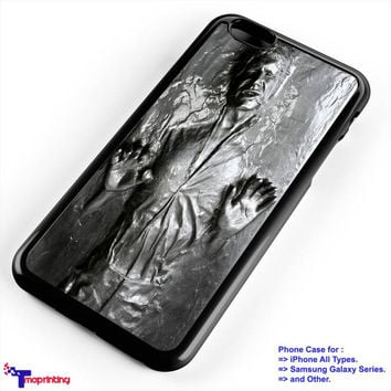 Star Wars Han Solo Carbonite - Personalized iPhone 7 Case, iPhone 6/6S Plus, 5 5S SE, 7S Plus, Samsung Galaxy S5 S6 S7 S8 Case, and Other