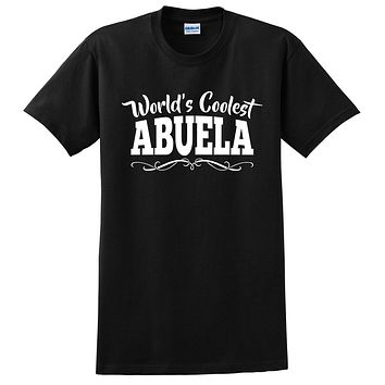 World's coolest abuela Mother's day birthday gift ideas for new grandma proud grandmom gifts for her T Shirt