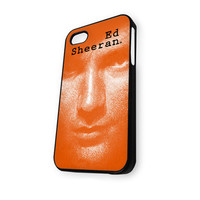 Ad sheeran in orange design iPhone 4/4S Case