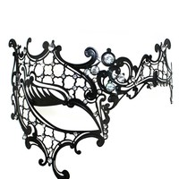 Luxury Mask Women's Signature Phantom Of The Opera Venetian Mask