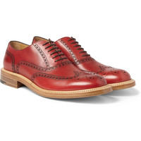 O'Keeffe - Milo Leather Wingtip Brogues | MR PORTER