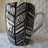 Aztec Feather Coffee Mug