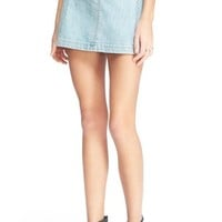 Free People 'Zip It' Denim Miniskirt | Nordstrom