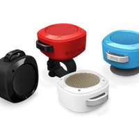 Divoom Water Resistant Shower Bluetooth 3.0 Portable Speaker iPhone, Smartphone, iPad, Laptop and more