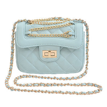 Dainty Quilted Chain Bag