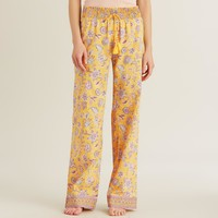 Yellow and Pink Kerani Pajama Pants