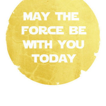 Star Wars Art Inspirational Poster by Harshness on Etsy