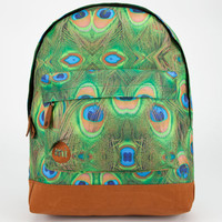 Mi-Pac Peacock Backpack Green Combo One Size For Men 23933354901
