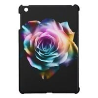 Tie Dye Colorful Rose Cover For The iPad Mini