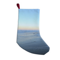 "Robin Dickinson ""Sand Surf Sunshine"" Beach Christmas Stocking"