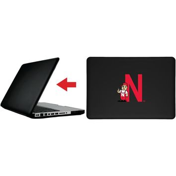 """Nebraska Lil' Red design on MacBook Pro 13"""" with Retina Display Customizable Personalized Case by iPearl"""