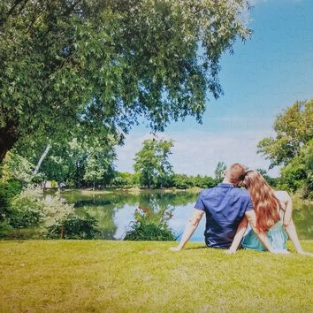 Custom Photo Jigsaw Puzzle for Large Wedding Guest Lists - 200 Piece Poster Size Puzzle