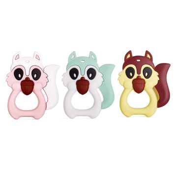 Food Grade Silicone Rubber Biting Baby Tither Toy