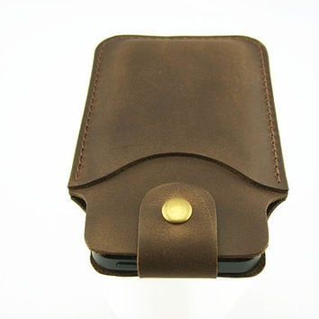iPhone 4 4s sleeve leather wallet iPhone 4 4s pouch case cover sleeve leather ipod touch 4 sleeve leather wallet