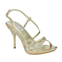 Touch Ups by Benjamin Walk Women's Fortuna Shoes Synthetic Gold