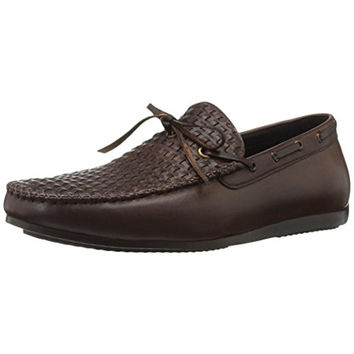 Zanzara Cezanne Slip On Leather Boat Shoes Color