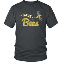 Save the Bees (flying) - Unisex Tee