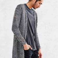 Kill City Drop- Stitch Long Cardigan